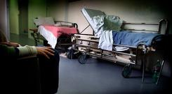 TROLLEY CRISIS: The HSE is considering the use of prefabs to avert further overcrowding in hospitals nationwide (Stock picture)