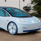 Zero-emissions future: One of the Volkswagen ID concept cars, which VW hopes will lead the charge away from diesel