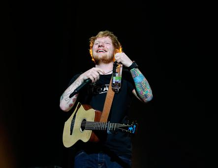 Ed Sheeran concert at the 3Arena. Picture: Damien Eagers