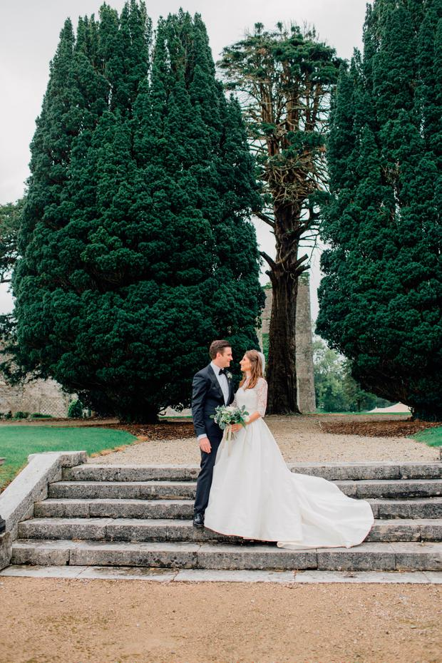 Mark and Ciara on their wedding day. Photography by Tanya at Eden Photography, visit eden-photography.com