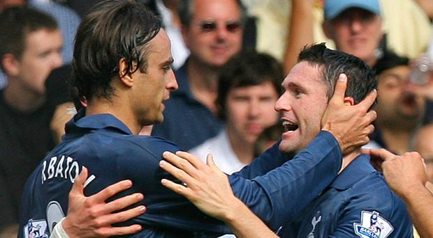 Dimitar Berbatov and Robbie Keane were some duo