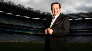 Marty Morrissey at Croke Park. Picture by David Conachy.