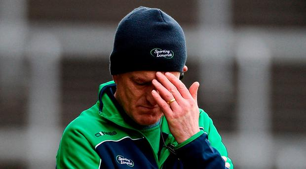 Limerick manager John Kiely. Photo: Diarmuid Greene/Sportsfile