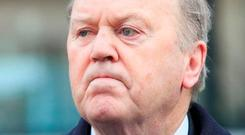 Finance Minister Michael Noonan is pushing our case. Photo: Gareth Chaney Collins