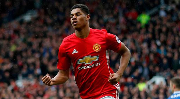 Manchester United's Marcus Rashford. Photo: Carl Recine/Action Images via Reuters