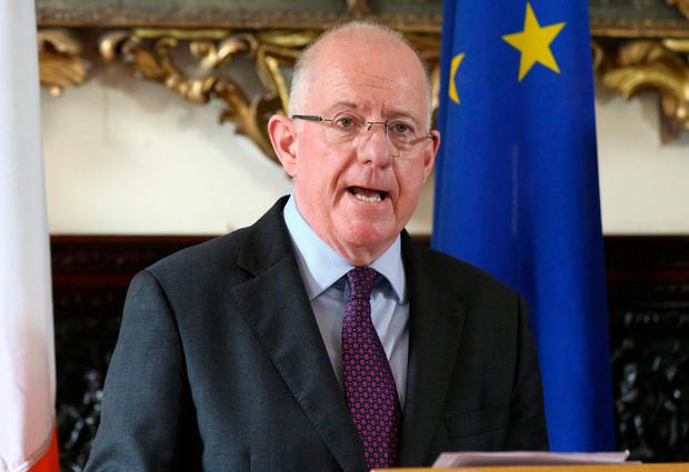 Encouraged: Foreign Affairs Minister Charlie Flanagan. Photo: Damien Eagers