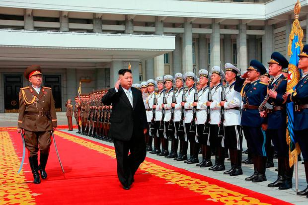 'North Korea's leader, Kim Jong-un, is by any standards a disgraceful individual and his regime is utterly disgusting.' Photo: Getty Images