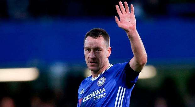 Terry has helped inspire Chelsea to 14 major trophies, including the Champions League and four Premier League titles during his 19 first-team seasons at the club. Photo: PA