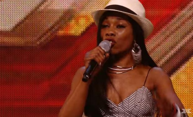 Bupsi during he first X Factor audition in 2015