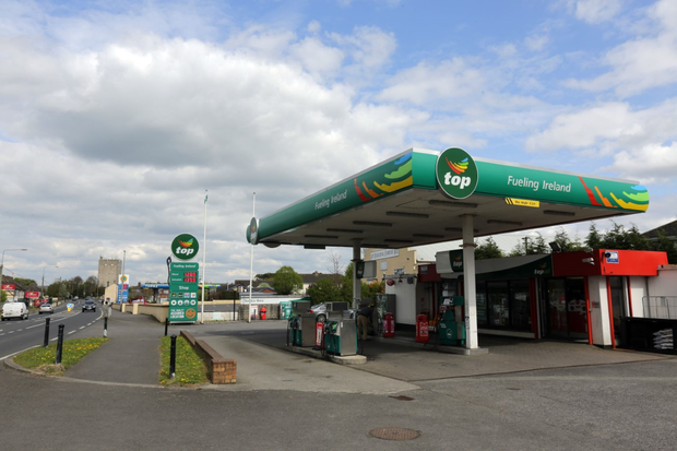 The Top service station in Athy. Photo: Mark Condren