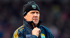 Kerry manager Jack O'Connor Photo: Stephen McCarthy/Sportsfile