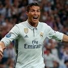 Cristiano Ronaldo's hat-trick fired Real Madrid into the Champions League semi-finals
