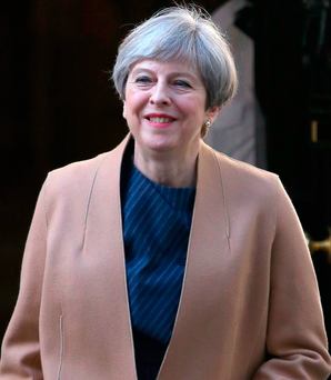 British Prime Minister Theresa May Photo: Philip Toscano/PA Wire