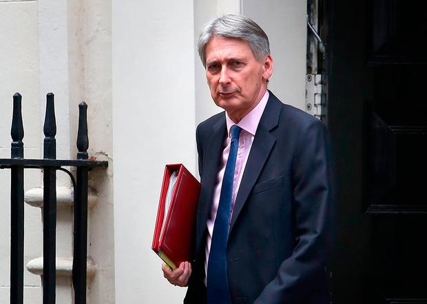 Britain's Chancellor of the Exchequer Philip Hammond Photo: Philip Toscano/PA Wire