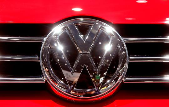 Volkswagen said yesterday that first-quarter operating earnings at the VW brand came to around €900m.
