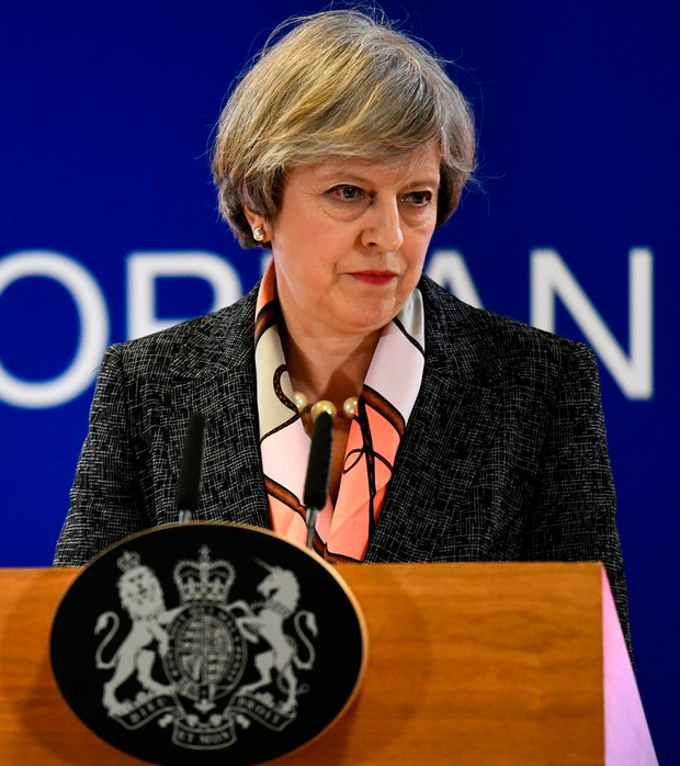 British Prime Minister Theresa May Photo: REUTERS/Dylan Martinez