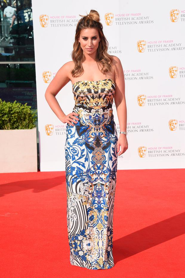 Ferne McCann attends the House Of Fraser British Academy Television Awards 2016 at the Royal Festival Hall on May 8, 2016 in London, England. (Photo by Stuart C. Wilson/Getty Images)