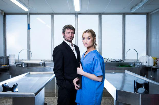 Bill Ward and Laura Whitmore star in Not Dead Enough by Peter James. Photo by Helen Maybanks 089.jpg