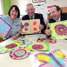 Caroline Flynn, Senior Play Specialist, Temple Street Children's University Hospital, Gary Hopwood, General Manager, Ricoh Ireland and James Lohan, Contracts & Procurement Manager, Temple Street Children's University Hospital.