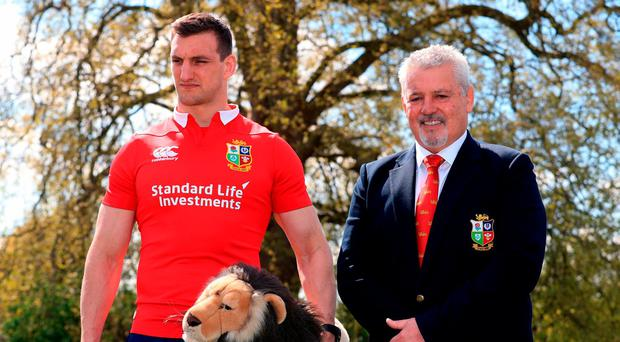 Lions squad 'what you'd expect' - Hansen