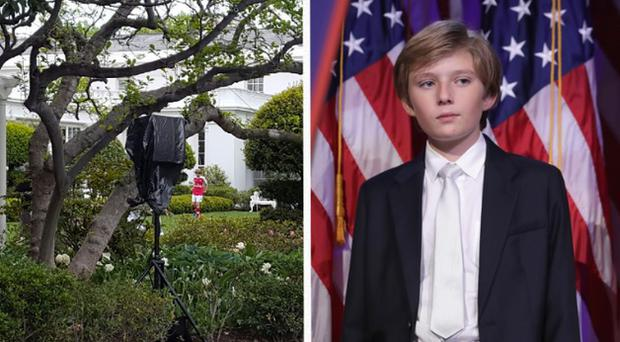 Barron Trump likes soccer. And Arsenal. And DC United?