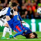 Lionel Messi could not save Barcelona from a Champions League defeat against Juventus. Photo: AP Photo/Manu Fernandez