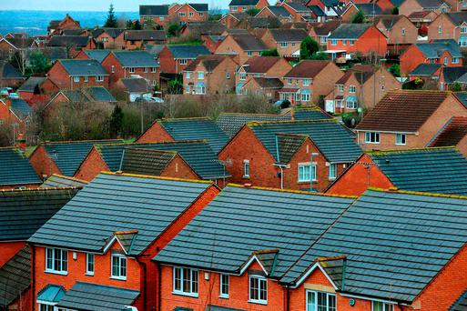 There were just 22,100 homes for sale in January. Stock picture