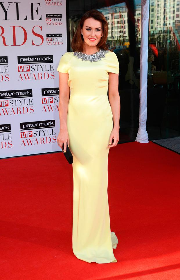 Mairead Ronan at the Peter Mark VIP Style Awards 2013