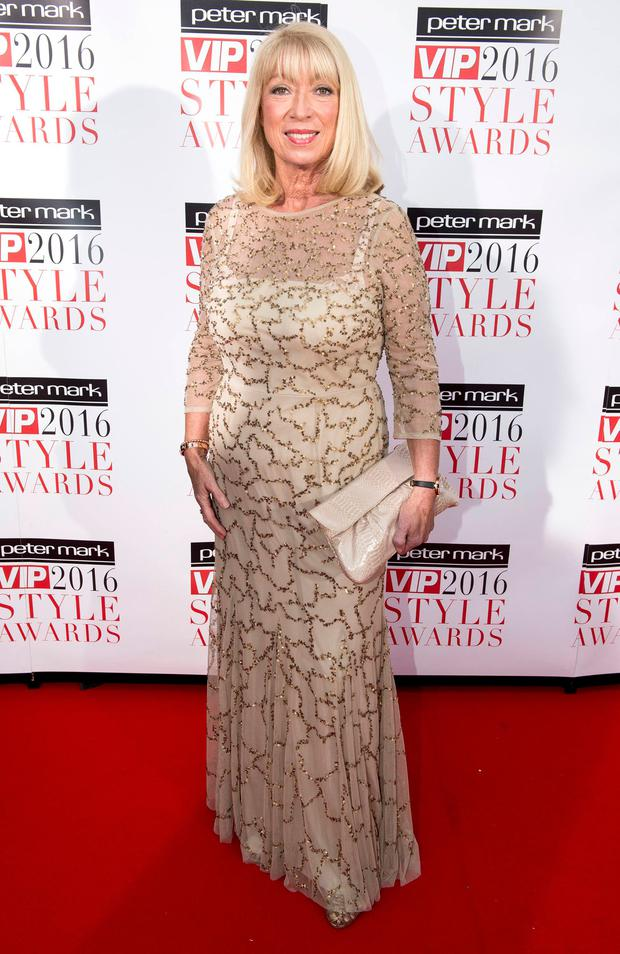 Anne Doyle at The Marker Hotel for the VIP Style Awards 2016