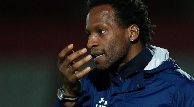 Former Middlesbrough defender Ugo Ehiogu has been coaching Tottenham's Under-23 side. Getty
