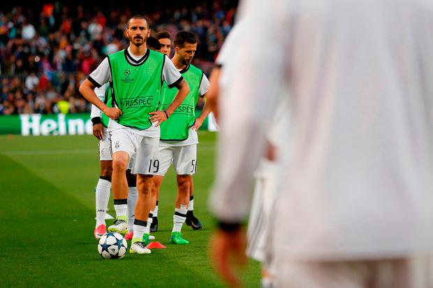 Leonardo Bonucci will not be allowed to leave Juventus on the cheap. CREDIT: Getty