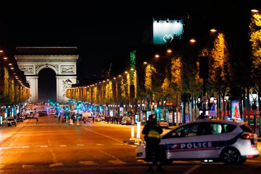 Two police officers shot on Champs-Elysees in Paris, French media report