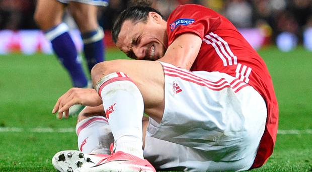 Surgery all that matters for Ibrahimovic - Mourinho realistic on United star´s future