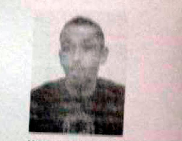 This photo provided by the AP on the condition that its source not be revealed, shows Karim Cheurfi. A police document obtained by The Associated Press identifies the address searched in the town of Chelles as the family home of Karim Cheurfi, a 39-year-old with a police record. (AP Photo)