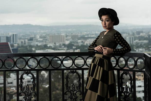 Ruth Negga in Kim Haughton's Portrait of a Century. Ruth Negga was born in Ethiopia to Irish-Ethiopian parents. She grew up in Limerick and studied Drama at the Samuel Beckett Centre in Trinity College. She moved to London and appeared regularly in theatre, films and TV productions. She won her an IFTA (Irish Film and Television) award in 2012 for her portrayal of Shirley Bassey in Shirley and in 2017, she was nominated for an Academy Award for her performance in Loving.