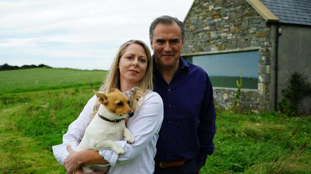 Entrepreneur Louise McGuane and her husband Dominic McCarthy renovated an old cottage which once belonged to her grandmother