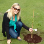 Georgina Culshaw planted a tree in memory of her little daughter Molly, who was tragically stillborn