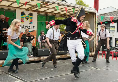 Mayo Day Celebrations. Pic: Michael Mc Laughlin