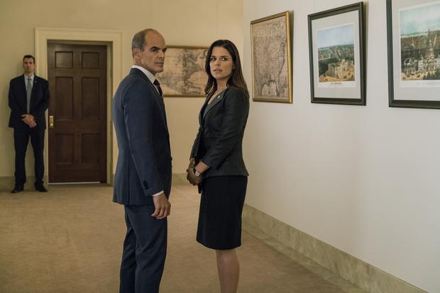 House of Cards season 5 Michael Kelly and Neve Campbell