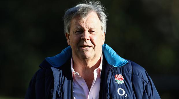 Ian Ritchie, the RFU chief executive looks on during the England training session held at Pennyhill Park on December 1, 2016 in Bagshot, England. (Photo by David Rogers/Getty Images)