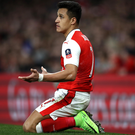 Alexis Sanchez has a major effect on the players around him. Photo: Julian Finney/Getty Images