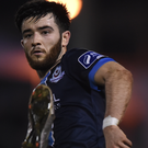 Adam Wixted opened the scoring for Drogheda. Photo: Matt Browne/Sportsfile