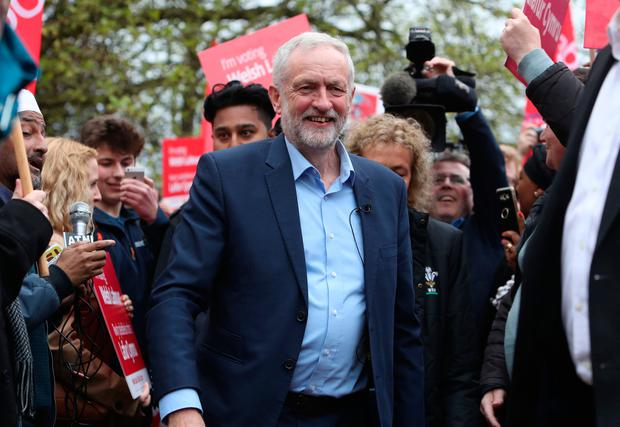 'Watch this space': Labour leader Jeremy Corbyn Photo: Steve Parsons/PA Wire