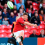 David Johnston of Munster A kicks a conversion. Photo: Sportsfile