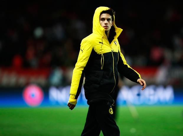 Injured player Marc Bartra Picture: Getty