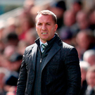 Celtics manager Brendan Rodgers. Photo: PA