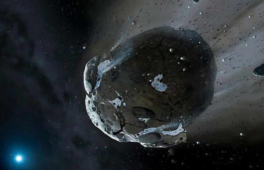Scientists have speculated for decades that a comet could be behind the sudden fall in temperature during a period known as the Younger Dryas (Stock picture)