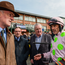 18 April 2017; Jockey Ruby Walsh in conversation with trainer Willie Mullins after winning the Glascarn Handicap Hurdle on Thomas Hobson during the Fairyhouse Easter Festival at Fairyhouse Racecourse in Ratoath, Co Meath. Photo by Cody Glenn/Sportsfile