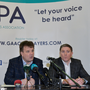 Declan Brennan, Secretary CPA, centre, Aaron Kernan, CPA Executive member and Grassroots Coordinator, left, and Micheal Briody Chairman CPA at the official launch of the Club Players Association at Ballyboden St Endas GAA in Firhouse Rd, Ballyroan, Dublin. The CPA are calling for all GAA Club members to register at www.gaaclubplayers.com to help Fix The Fixtures. Photo by Piaras Ó Mídheach/Sportsfile