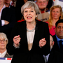 Election call: British prime minister Theresa May will be hoping to be in a stronger position after the June election Photo: Andrew Yates/Reuters